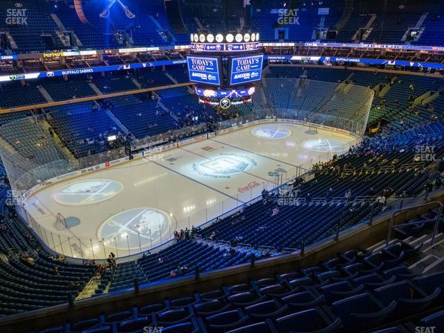 KeyBank Center Section 323 view