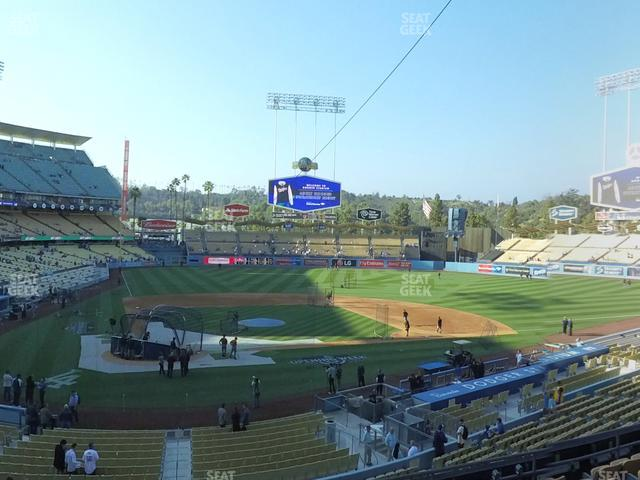 Dodger Stadium Loge Box 118 view