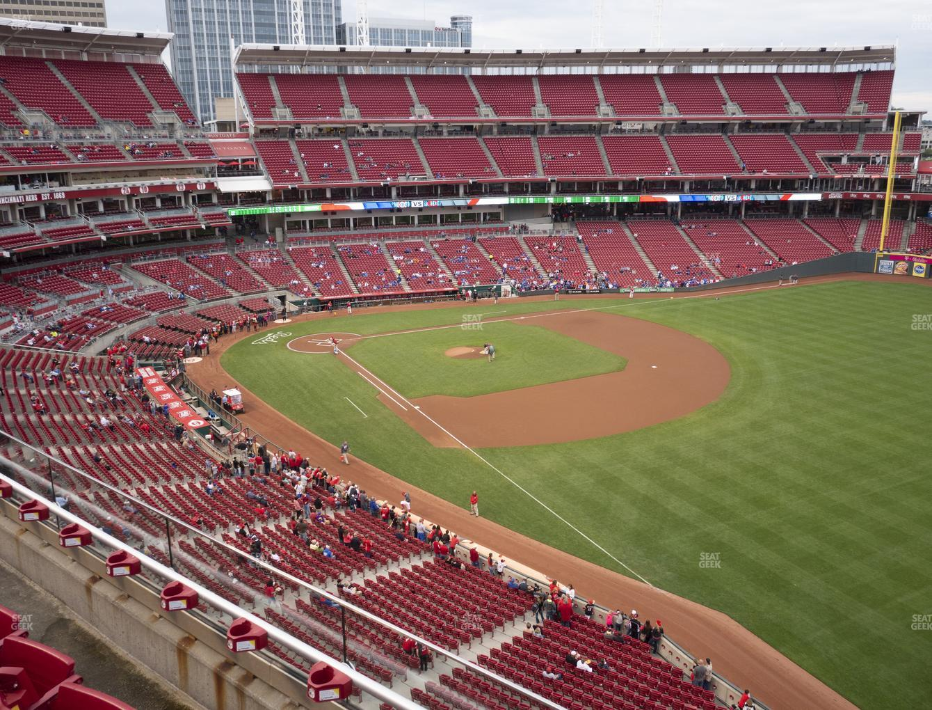 Cincinnati Reds at Great American Ball Park Section 436 View