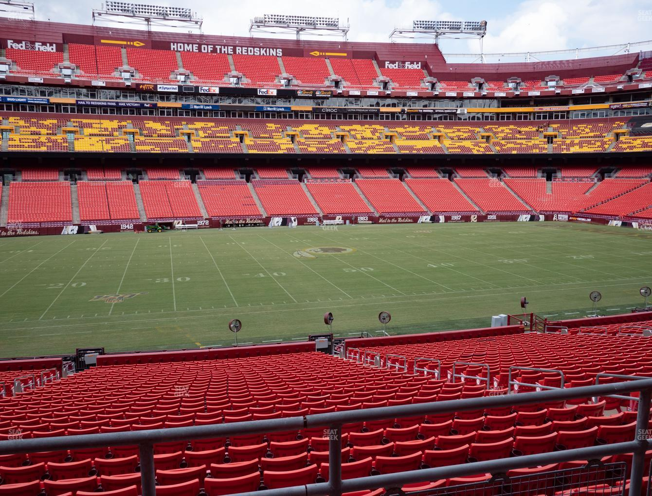 Fedex Field Section 202 Seat Views