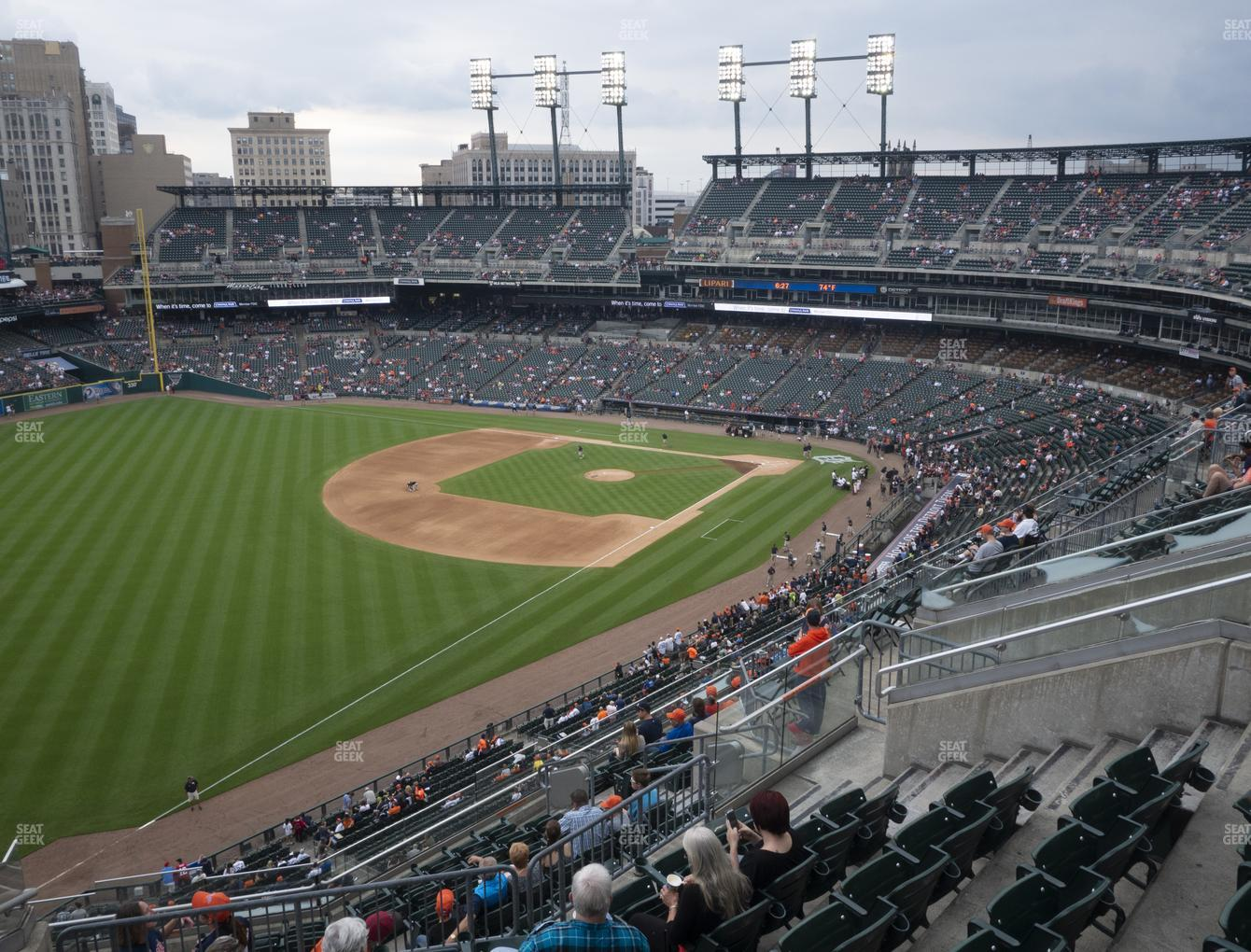 Comerica Park Section 342 Seat Views | SeatGeek