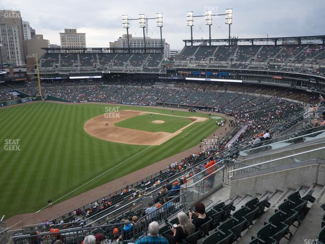 Comerica Park Section 342 view