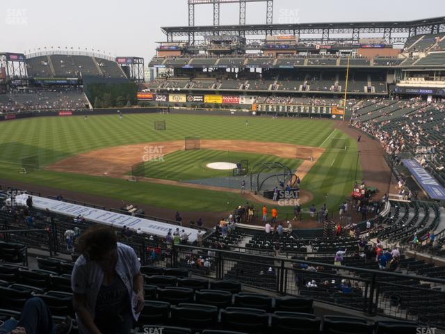 Coors Field Section 234 view