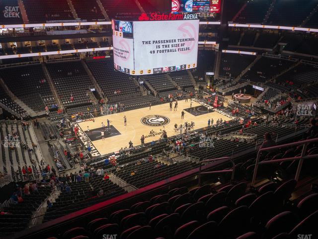 State Farm Arena Section 225 view