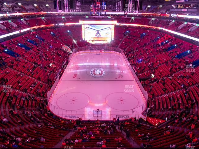 Bell Centre Section 328 view