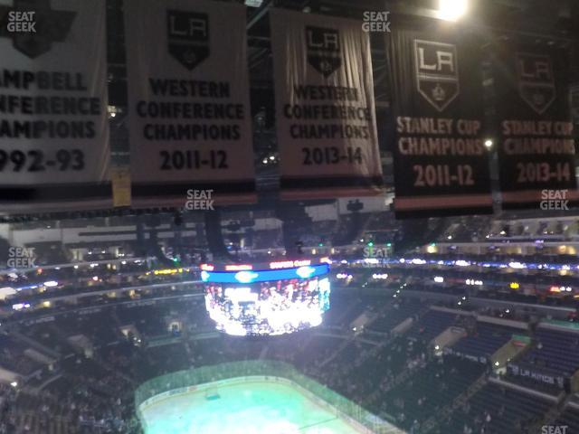 Staples Center Section 329 view