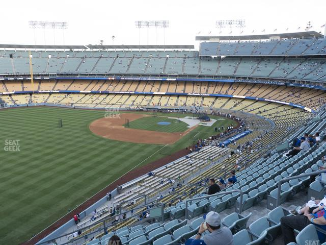 Dodger Stadium Reserve 47 view