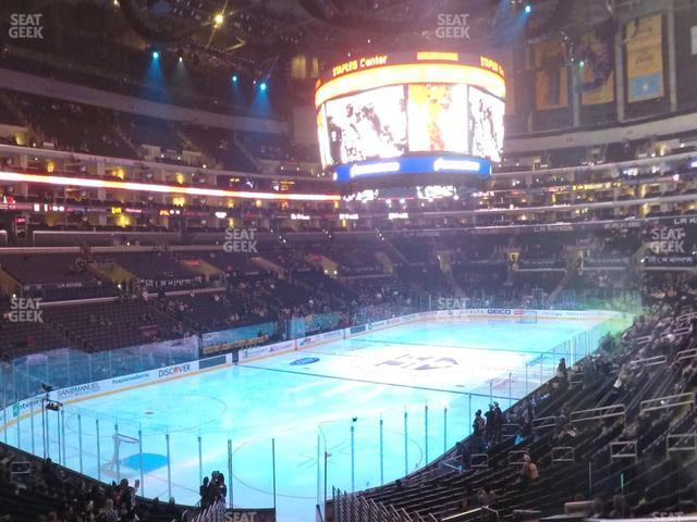 Staples Center Section 214 view
