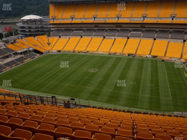 Heinz Field Section 513 view