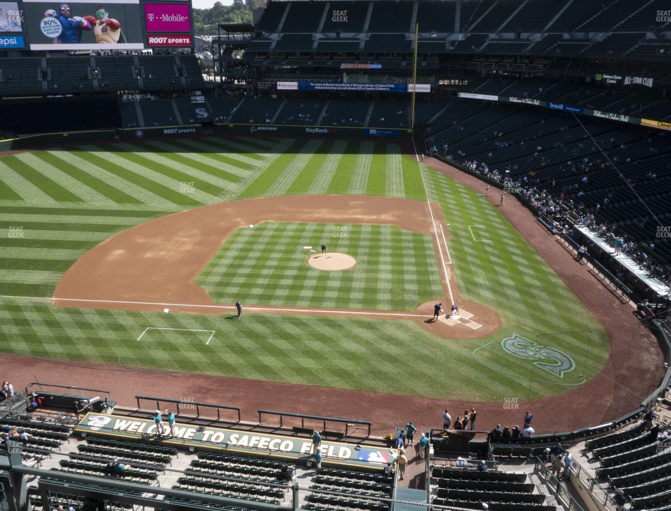 Seattle Mariners at T-Mobile Park Section 335 View