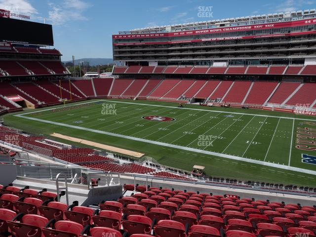 Levi's Stadium Section 211 view