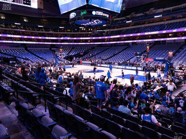American Airlines Center Section 104 view