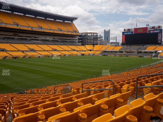 Heinz Field Section 129 view