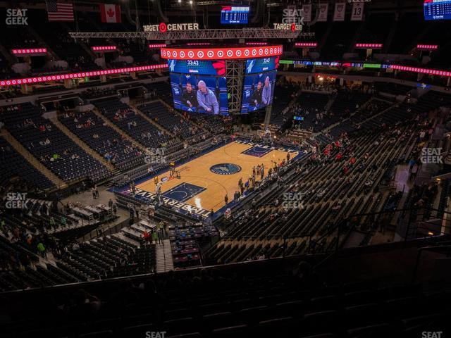 Target Center Section 237 view
