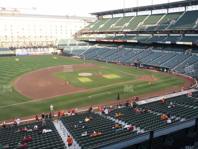 Oriole Park at Camden Yards Section 254 view
