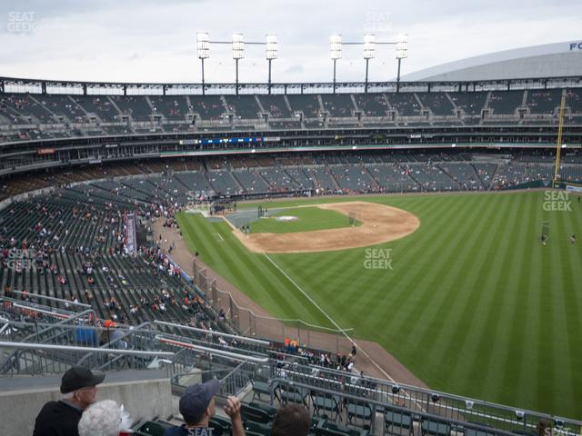 Comerica Park Section 211 view