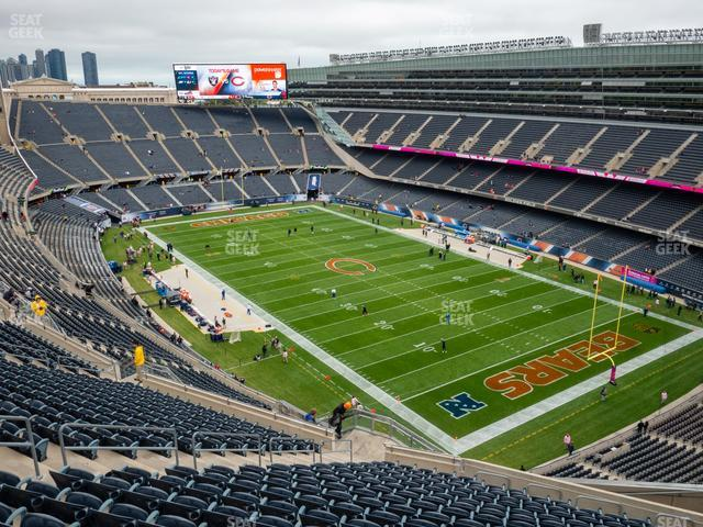 Soldier Field Section 429 view