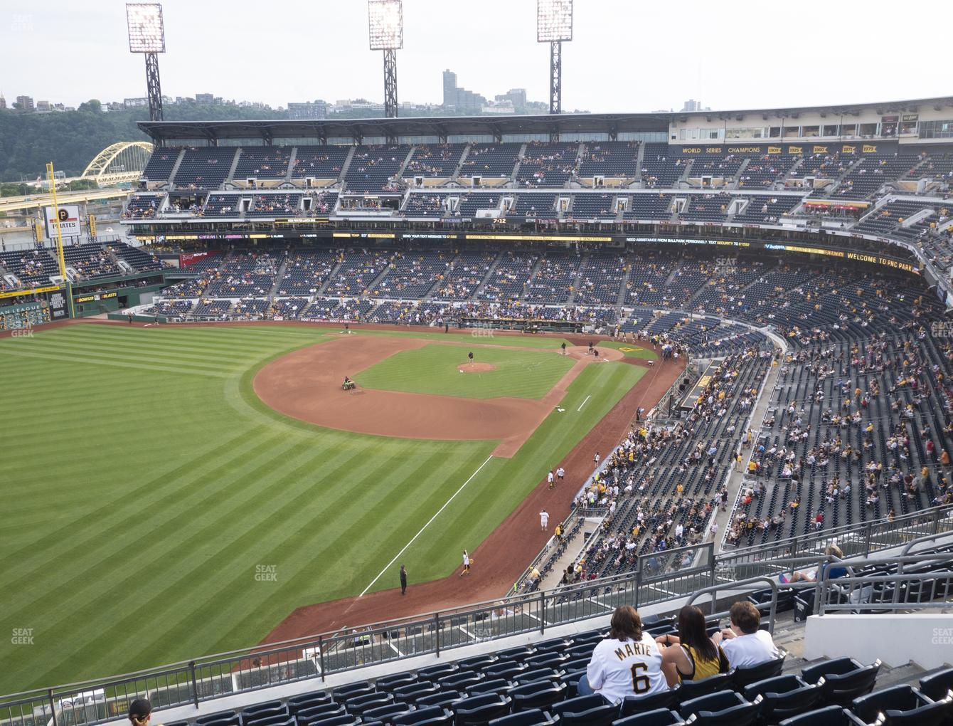Pittsburgh Pirates at PNC Park Section 333 View