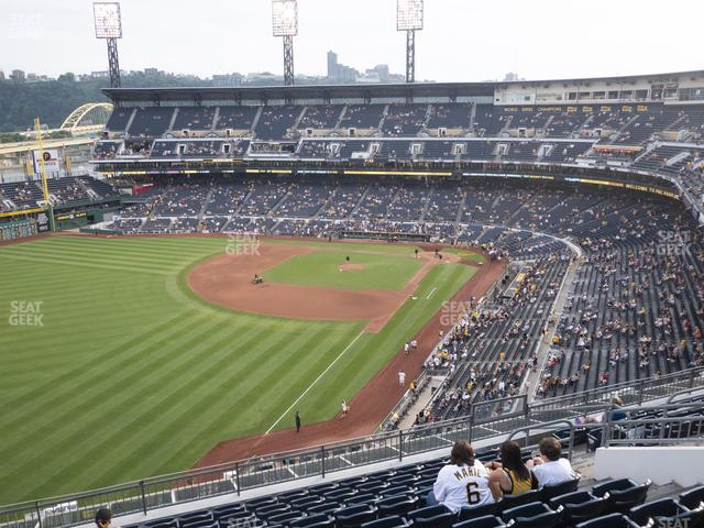 PNC Park Section 333 view