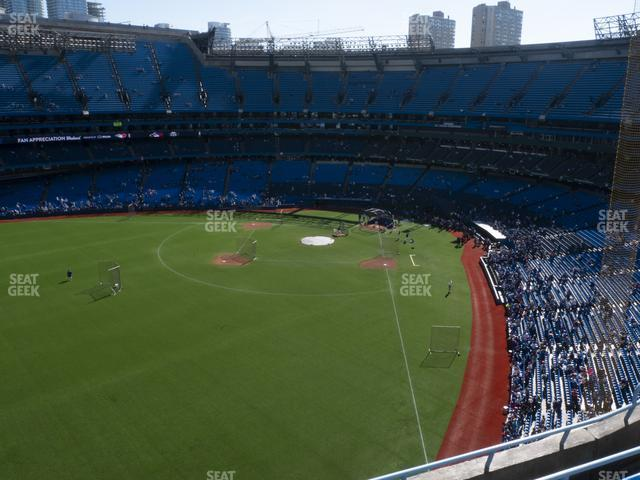 Rogers Centre Section 540 R view