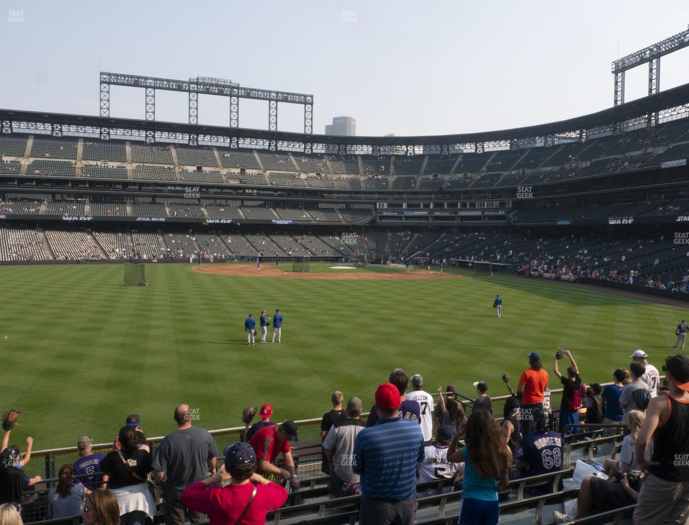 Coors Field Section 155 Seat Views Seatgeek