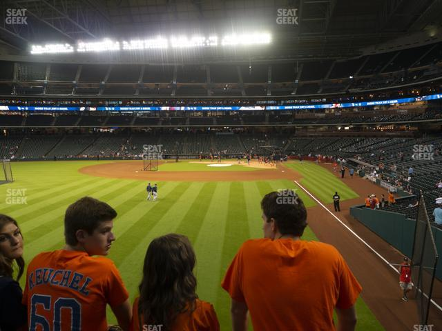 Minute Maid Park Section 103 view