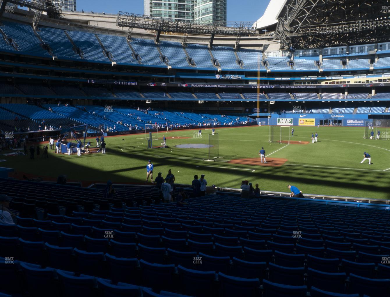Toronto Blue Jays at Rogers Centre Section 116 R View