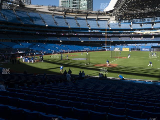 Rogers Centre Section 116 R view