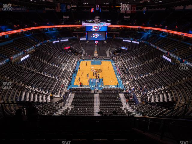 Chesapeake Energy Arena Section 301 view