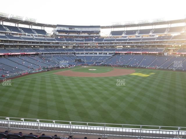 Nationals Park Section 242 view