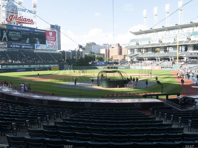 Progressive Field Section 155 view