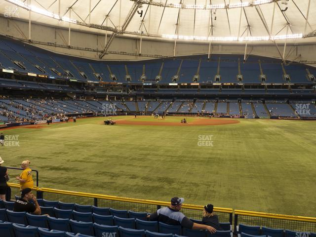 Tropicana Field Section 146 view