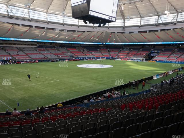 BC Place Stadium Section 248 view