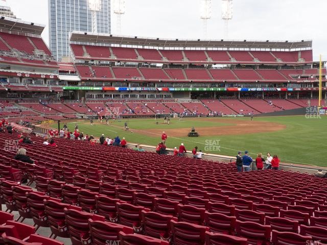 Great American Ball Park Section 135 view