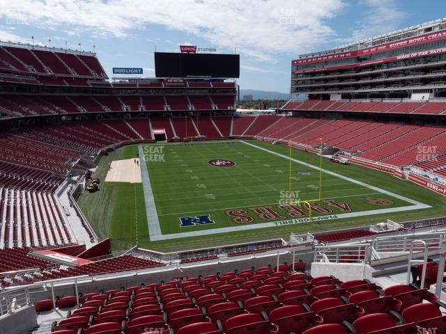 Levi's Stadium Section 205 view