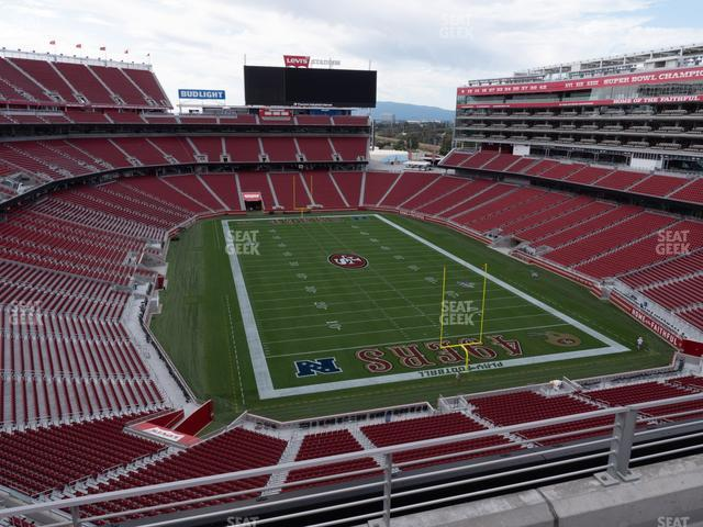 Levi's Stadium Section 305 view