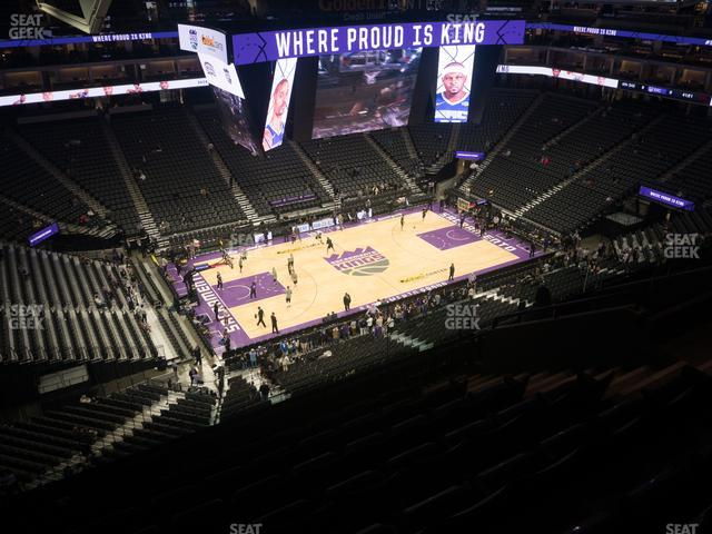 Golden 1 Center Section 220 view