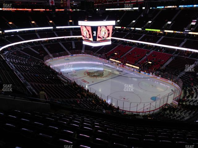 Canadian Tire Centre Section 318 view