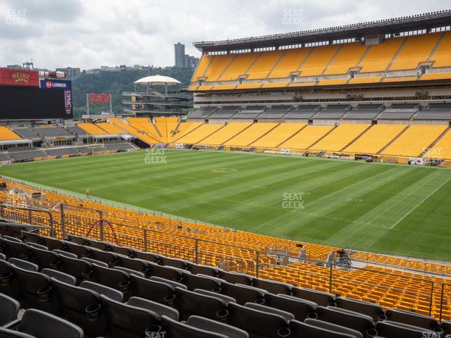 Heinz Field Section 215 view