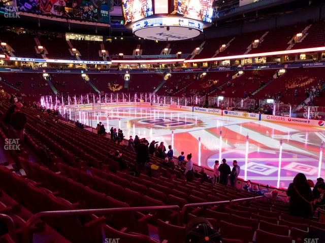 Rogers Arena Section 103 view