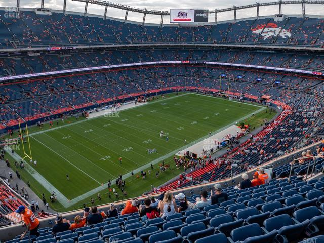 Empower FIeld at Mile High Section 540 view