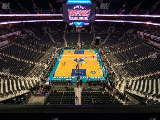 Spectrum Center Section 217 view