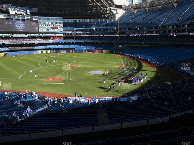 Rogers Centre Section 228 R view