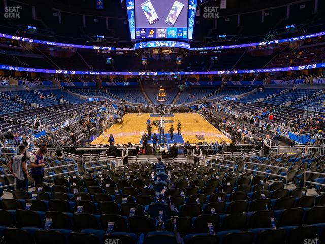 Amway Center Section 101 view