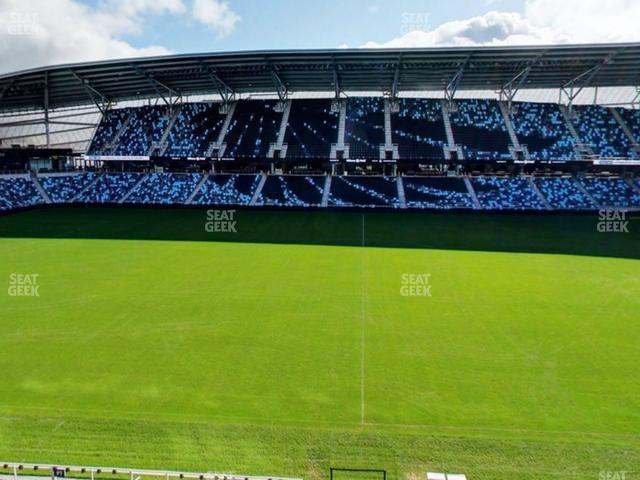 Allianz Field Section 132 view