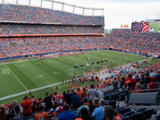 Empower FIeld at Mile High Section 316 view