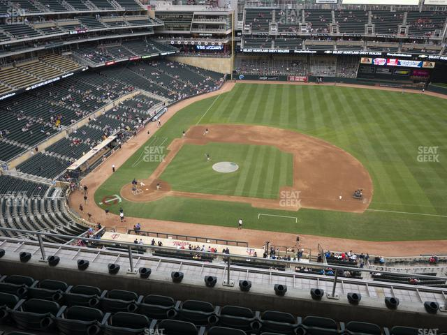 Target Field Section 309 view