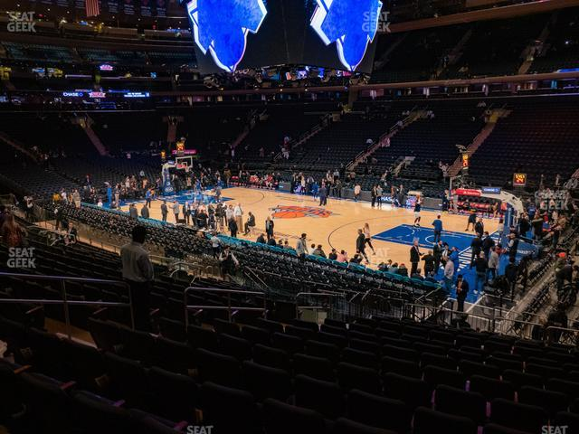 Madison Square Garden Section 119 view