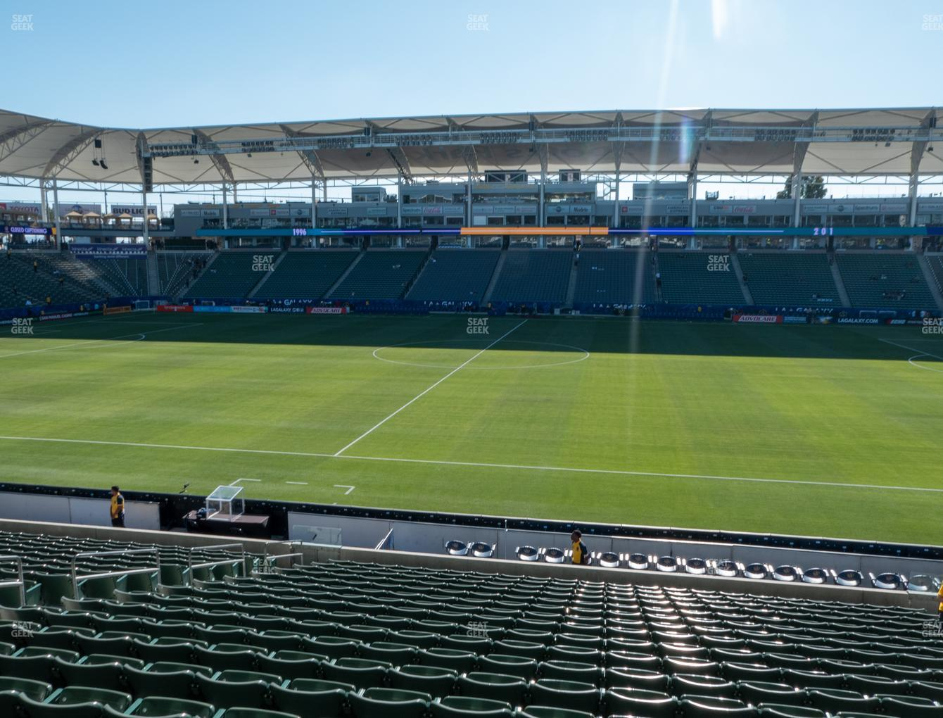 Dignity Health Sports Park Section 131 Seat Views | SeatGeek