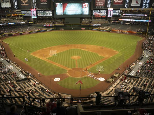 Chase Field Section 317 view